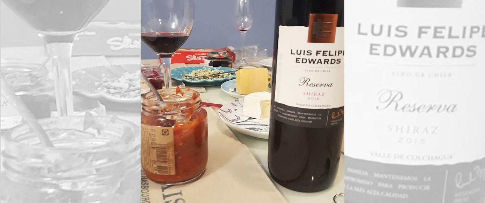 Luis Felipe Edwards Reserva Shiraz 2015